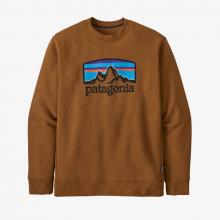 Men's Fitz Roy Horizons Uprisal Crew Sweatshirt by Patagonia in Thornton CO