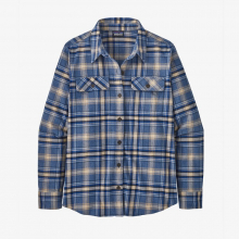 Women's L/S Organic Cotton MW Fjord Flannel Shirt by Patagonia in Sioux Falls SD