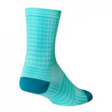 Aqua Stripes by SockGuy