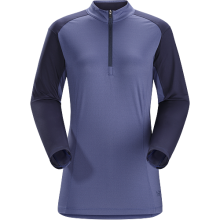 Skeena Zip Neck LS Women's