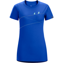 Up slope SS T-Shirt Women's by Arc'teryx