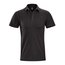 Captive SS Polo Men's by Arc'teryx in Golden Co