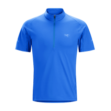 Accelerator Zip Neck SS Men's by Arc'teryx