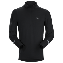 Cormac Zip Neck LS Men's by Arc'teryx in Santa Barbara Ca
