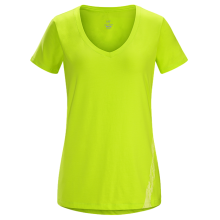 Regenerate SS V-Neck Women's by Arc'teryx in Prescott Az