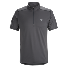 Accelero Comp Zip Neck SS Men's by Arc'teryx
