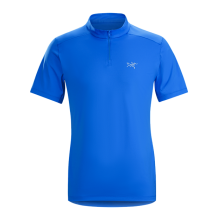 Phasic Evolution SS Zip Neck Men's by Arc'teryx