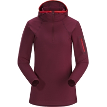 Rho LT Hooded Zip Neck Women's by Arc'teryx