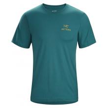 Emblem T-Shirt SS Men's by Arc'teryx in Durango CO