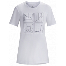 Quadrants T-Shirt SS Women's by Arc'teryx in Rocky View No 44 Ab