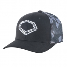 Shrapnel Flex Fit Trucker Hat by EvoShield in Johnstown Co