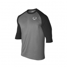Youth 3/4 Sleeve Performance Baseball Shirt
