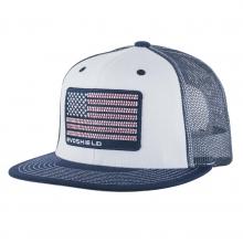 Flag Patch Flatbill Snapback Hat by EvoShield