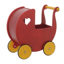 Moover Mini Dolls Pram Red by HABA
