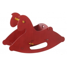 MOOVER Rocking Horse Red by HABA