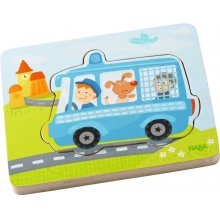 Wooden Puzzle Emergency Call by HABA