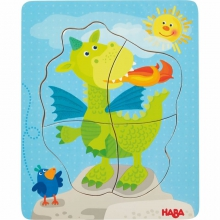 Wooden Puzzle Darling Dragons by HABA