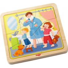 Wooden Puzzle My Day by HABA