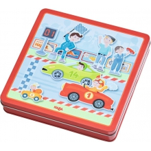 Zippy Cars Magnetic game box by HABA in Irvine Ca