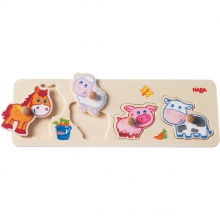 Baby farm animals Clutching Puzzle by HABA