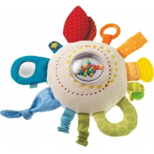 Teether Cuddly Rainbow Round by HABA in Hallandale Beach Fl