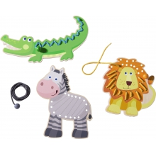 Threading Animals Zoo Friends by HABA
