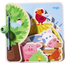 Baby Book Farm Friends by HABA