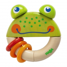 Clutching Toy Frog Frido by HABA