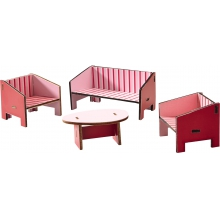 Little Friends - Dollhouse Furniture Parlor by HABA