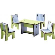 Little Friends - Dollhouse Furniture Dining Room