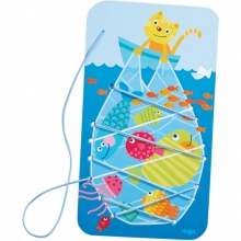 Catching Fish Threading Game by HABA