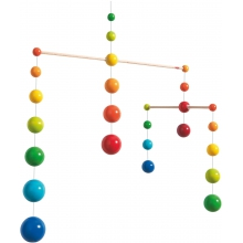 Mobile Rainbow Balls by HABA
