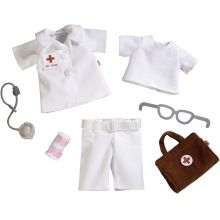 "Dress set Doctor, 12"" - 13.75"" by HABA"