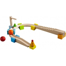 My first ball track - Basic Pack Chatter Track by HABA