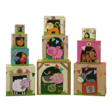 Stacking Cubes On the Farm by HABA