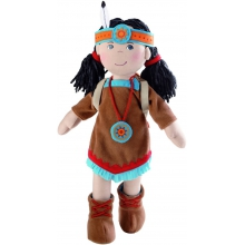 "American Indian Doll  Sihu, 15"" by HABA"