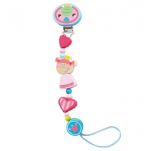 Princess and the Frog Pacifier Chain by HABA