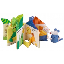 Little Leaf House Fabric Book by HABA
