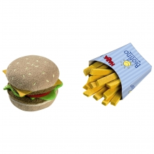 Biofino Hamburger and French Fries by HABA
