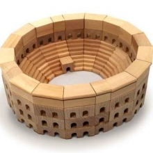 Roman Coliseum Architectural Block Set