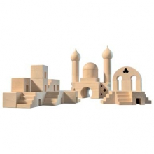 Middle Eastern Architectural Blocks Set
