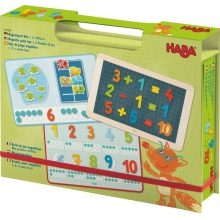Magnetic Game Box 1,2 Numbers & you by HABA