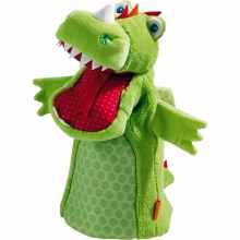 Glove puppet Dragon Vinni by HABA