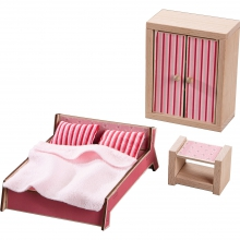 Little Friends - Dollhouse Furniture Master Bedroom - by HABA