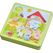 Peter and Pauline's Farm Magnetic game box by HABA