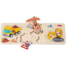Building Site Clutching Puzzle by HABA