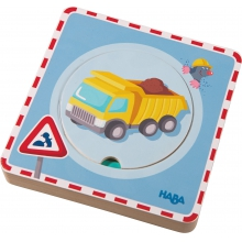 Wooden Puzzle Construction Site  by HABA