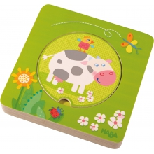 On the Farm Wooden Puzzle by HABA