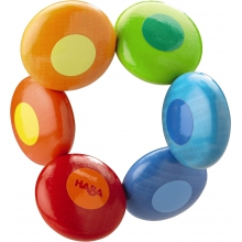 Rainbow Circles Clutching Toy by HABA