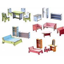 Little Friends - Dollhouse Furniture Villa Sunshine by HABA